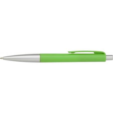 PVC kemični svinčnik barvni, srebrni oprijem