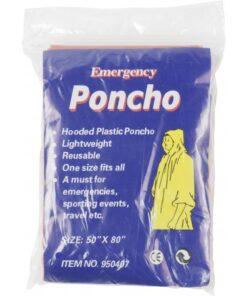 PVC Poncho s kapuco