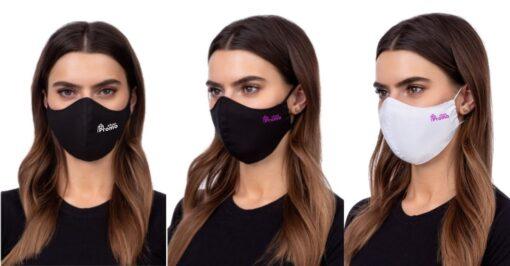 BOMBAŽNA pralna maska PROFILED s tiskom