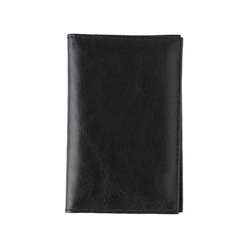 Usnjena denarnica RFID za kartice in bankovce