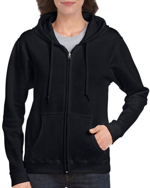 Ženski pulover s kapuco HEAVY BLEND