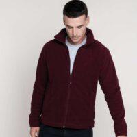 FALCO - Flis pulover z zadrgo