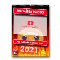 7 listni gasilski koledarji