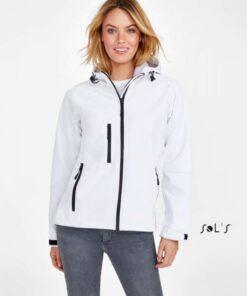 Ženska Softshell jakna REPLAY - s kapuco