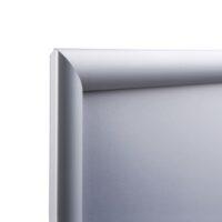 Klik okvir A3 25mm rob srebrn-3