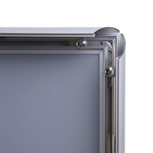 Klik okvir A3 25mm rob srebrn-2