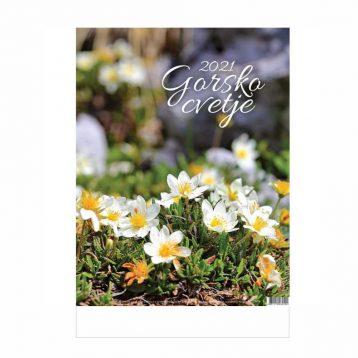 Koledar gorsko cvetje